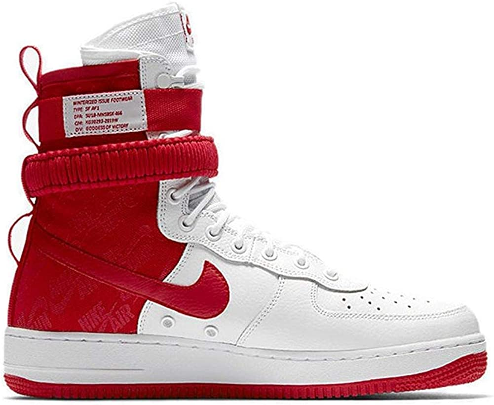 Nike Men's SF AF1 Casual Shoe 14 White