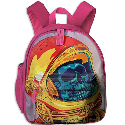 Mini Student School Bags Backpack Daypack Cool With Skeleton Super Bookbag Break For Children Boys Girls Pink