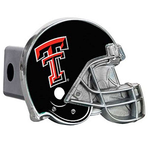 (Great American Products Ltd Texas Tech Red Raiders Trailer Hitch Receiver Cover - Helmet)