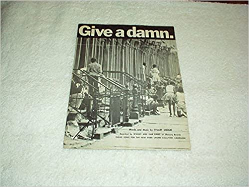 GIVE A DAMN Sheet Music Booklet Recorded By SPANKY AND OUR