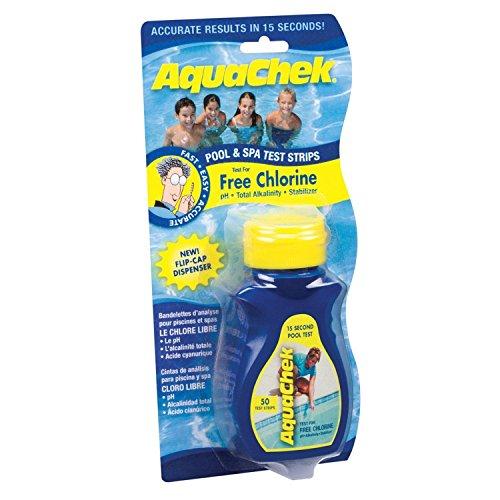 AquaChek Chlorine Pool & Spa Test Strips (50 Ct) /#B4G341TG 32W4-15RTH158377