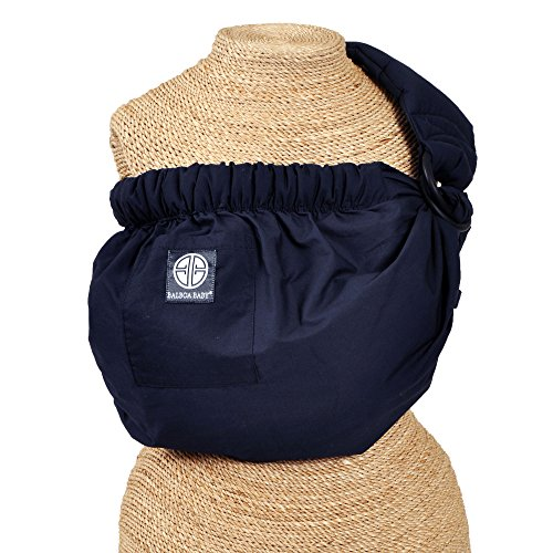 Balboa Baby Dr. Sears Adjustable Sling - Signature Navy Blue (Baby Balboa Sling Sears)