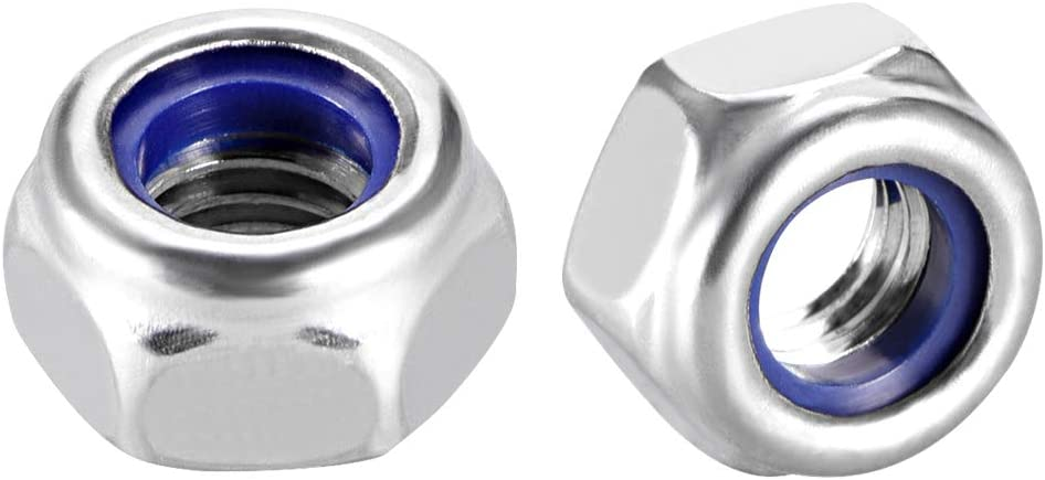 Stainless Hex Nut Pack of 50 M6