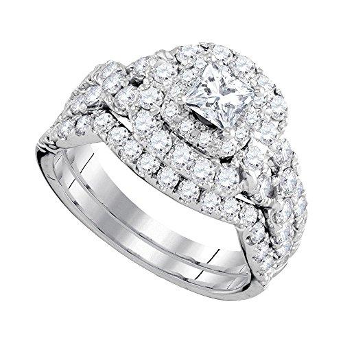 0.47 Ct Princess Diamond - 8