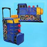 TRAIN kids TRAVEL SUITCASE rolling BAG suit case