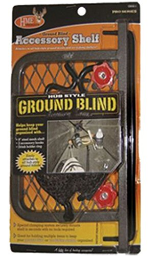 HME Products Ground Blind Accessory Shelf, 12-Inch