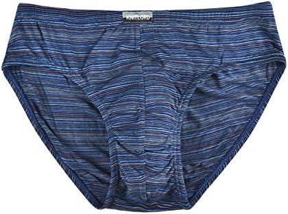 Knitlord Lot de 3 Culottes en Bambou pour Homme