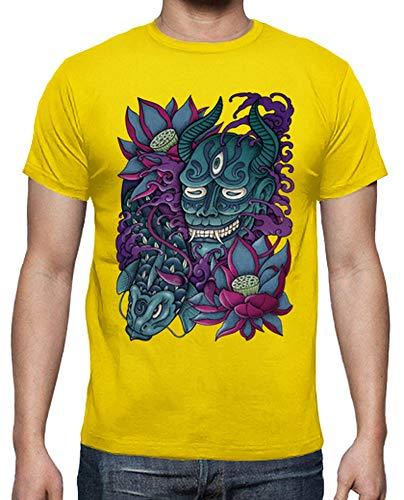 Hannya shirt Uomo Limone Giallo B Tostadora T v4EwqPw8