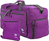 Bago 23'' Duffle Bag for Men & Women - 60L Packable Travel Duffel Bags - Carry On & Gym
