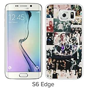 Hot Sale And Popular Samsung Galaxy S6 Edge Case Designed With 5 SOS White Samsung S6 Edge Phone Case