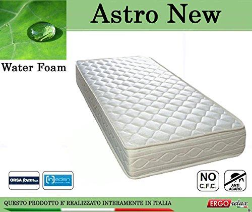 Astro Materassi.Ergorelax Materasso Water Foam Mod Astro New Poliuretano Espanso