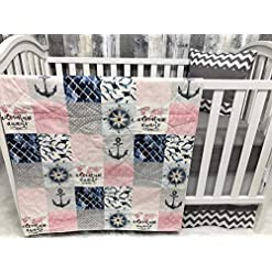 51PM3OE3bUL._SS247_ Anchor Crib Bedding Sets and Anchor Nursery Bedding