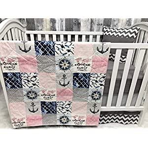 51PM3OE3bUL._SS300_ Nautical Crib Bedding & Beach Crib Bedding Sets