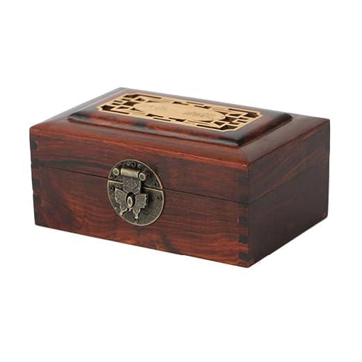 Wooden Jewelry Box Nan Joyero Yangwood Yang Caja de Madera de ...
