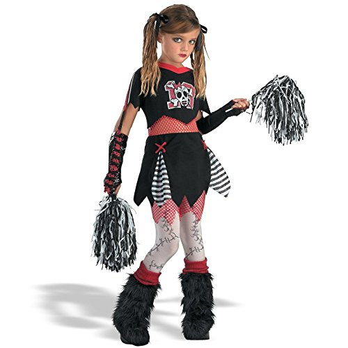 Cheerless Leader Child Costume - (Cheerleader Zombie)