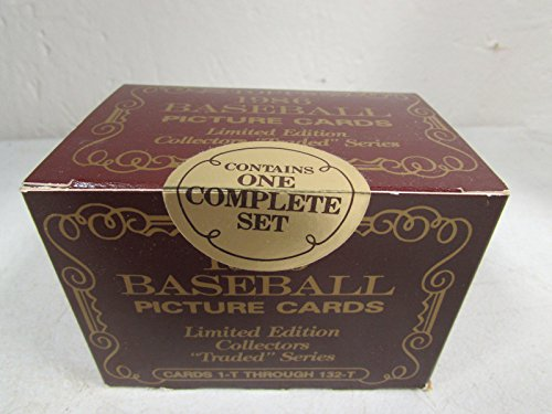 Topps Traded Barry Bonds 1986 - 1986 Topps Tiffany Traded Factory Sealed Set 132 Cards , Barry Bonds, Bo Jackson , Will Clark And Many Other Rookies