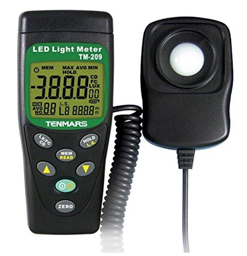 Tenmars Led Light Meter in US - 1