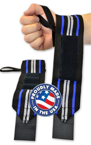 Titanium Powerlifting Wrist Wraps (36 inch length)