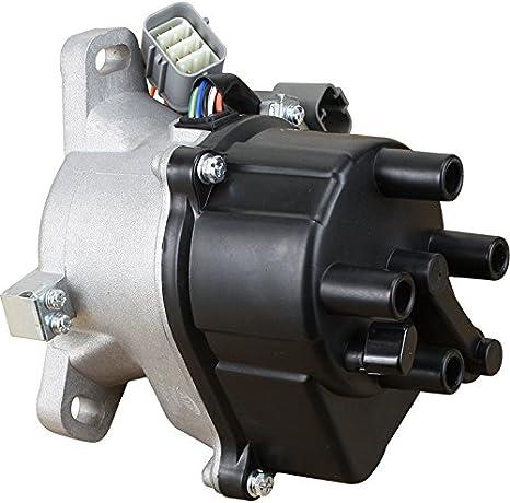 AIP Electronics Complete Premium Electronic Ignition Distributor Compatible Replacement For 1992-1995 Honda Civic 1.5L SOHC VTEC TD-42U 30100-P08-006 31-17404 OBD1 Oem Fit DTD42