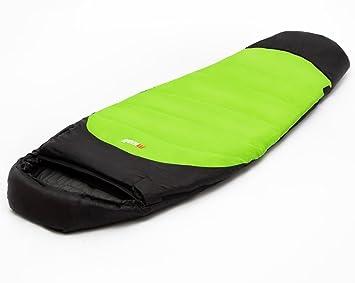 Mivall - Saco de dormir infantil Kid Flex, Lemon, M, 10123782: Amazon.es: Deportes y aire libre
