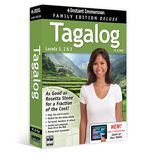 Learn Tagalog: Instant Immersion Family Edition Language Sof
