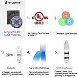 HitLights LED Strip Lights, UL Listed RGB LED