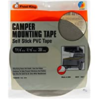 Frost King V447H Camper Mounting Tape 1-1/4-Inch by 3/16-Inch by 30-Feet, Grey by Frost King