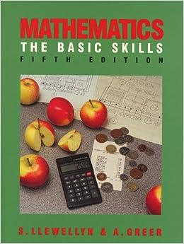 Basic Mathematics Skills by Treff a