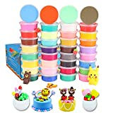 Air Dry Clay 36 Colors Modeling Clay No-Toxic Ultra Light Magic Clay Set with Tools Creative DIY Crafts Clay Dough, Best Gift for Kids