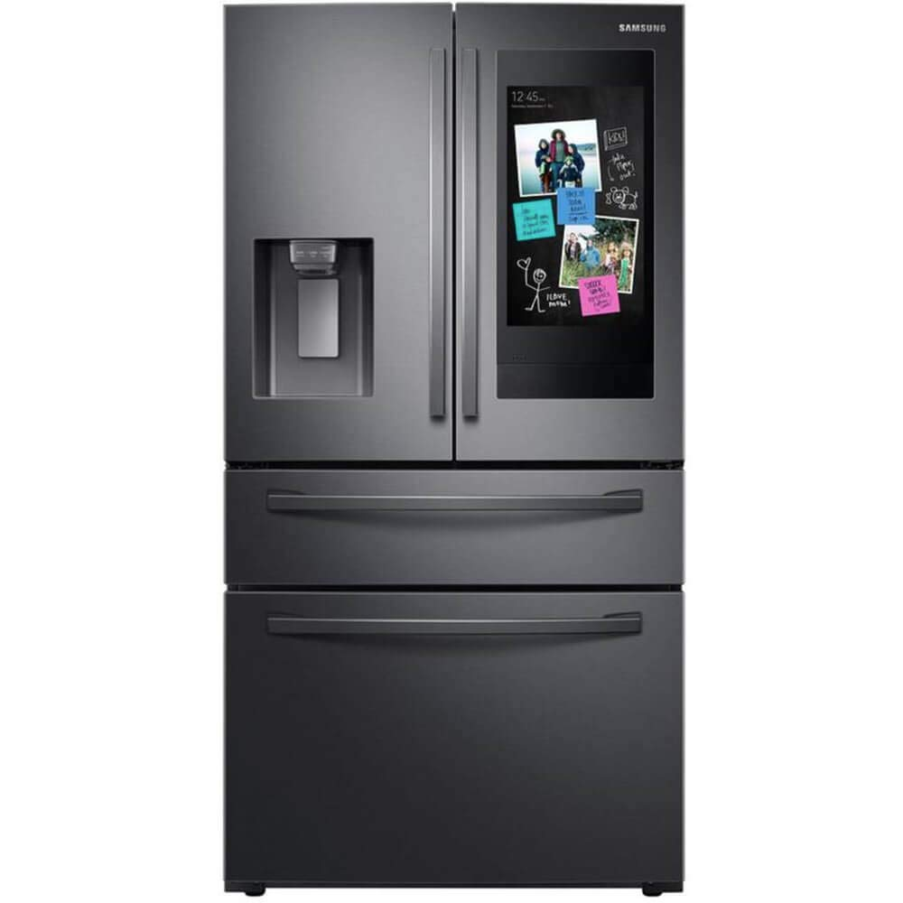 Samsung RF28R7551SG 27.7 cu.ft. Black Stainless French Door Smart Refrigerator
