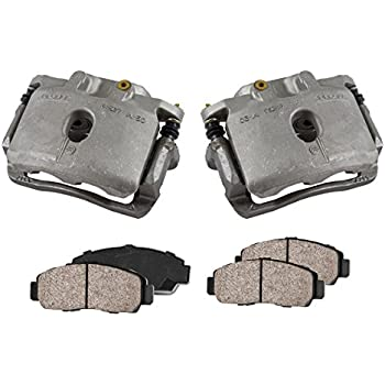 FRONT Premium Grade OE Semi-Loaded Caliper Assembly Pair Set CKOE01053 2