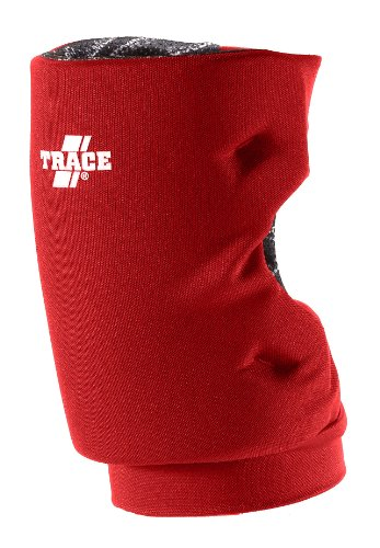 (Adams USA Trace Short Style Softball Knee Guard (Small, Scarlet))
