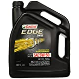 Castrol 03126 Aceite para Motor Edge 5W-50 U.S, 3X5QT Span, Color Negro