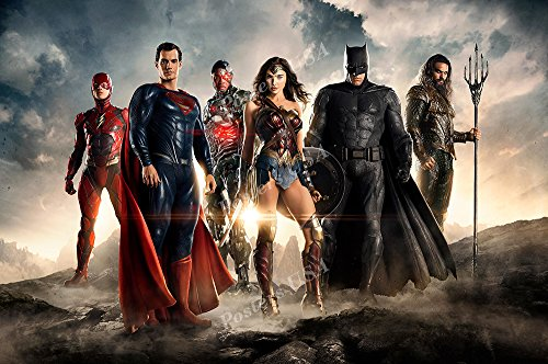 Posters USA - DC The Justice League Movie Poster GLOSSY FINISH - FIL035 (24