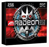 ATI 100-437105 Radeon 9550 256MB 128-bit DDR AGP Video Card