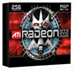ATI 100 437105 Radeon 9550 256MB 128 bit DDR AGP Video Card