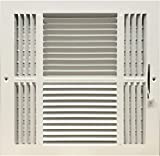 hot air register - Four-way Steel Ceiling/sidewall register - Diffuser-Vent Cover 14