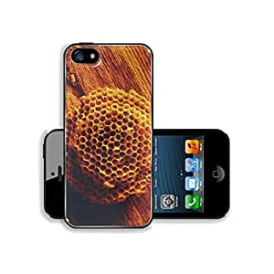 Pretty Golden Bee Hive This,That & What Nots Apple iPhone 5s Cover Premium Aluminum Design TPU Case Open Ports Customized Made to Order
