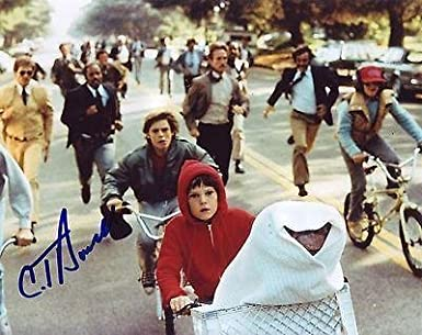 C Thomas Howell Signede T The Extra Terrestrial 8x10 Photo Tyler W Coa 1 At Amazon S Entertainment Collectibles Store