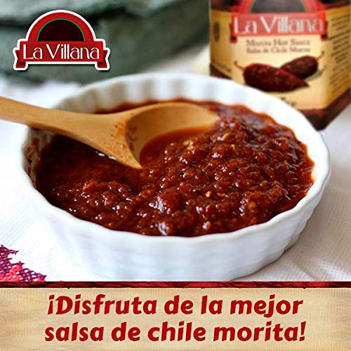 Amazon.com : Salsa La Villa Spicy Morita Pepper Sauce (6) : Grocery & Gourmet Food