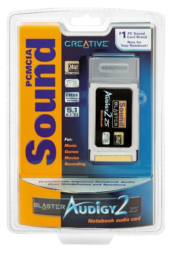 CREATIVE PCMCIA SOUND BLASTER AUDIGY 2 ZS NOTEBOOK SMART RECORDER DRIVER WINDOWS XP