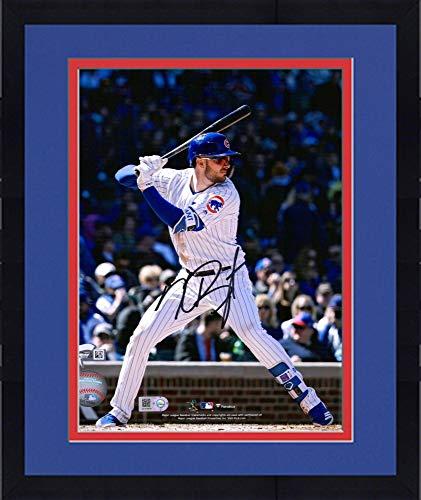 Framed Kris Bryant Chicago Cubs Autographed 8'' x 10'' Batting Stance Photograph - Fanatics Authentic Certified