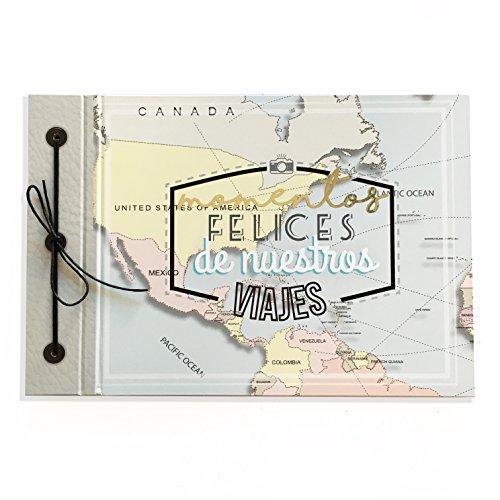 Album Momentos felices de Nuestros Viajes- La Scrapería