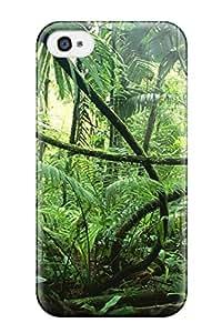 BOYLL6240zUgRu Case Cover, Fashionable Iphone 4/4s Case - Amazon Rainforest