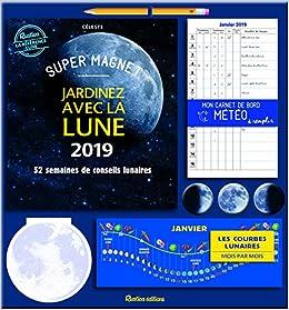 Calendrier Jardinage Lunaire 2019.Amazon Fr Super Magnet Jardinez Avec La Lune 2019 Super