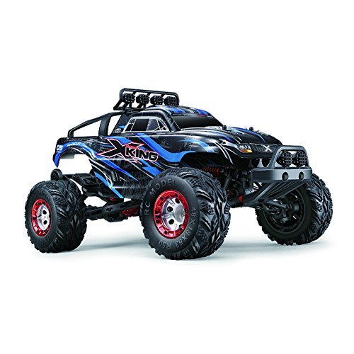 Zerospace Keliwow 1/12 Electric Remote Control Car 40 MPH Brushless Off Road RC Car 4WD 2.4G RC Monster Truck RTR X-King-5 Blue