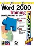 Word 2000 Training [CD-ROM] Windows 98 / Windows Me / Windows 2000 / Windows XP