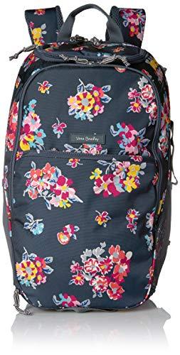 (Vera Bradley Lighten Up Journey Backpack, Tossed Posies)