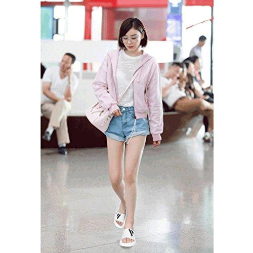 5 Chaussures Sandales Femme Pantoufles 5 Taille de Mode Porter des d'été Sport Chaussons de RHOxFwq0