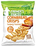 Farmer's Pantry has taken freshly baked Cornbread and transformed it into a delicious crispy snack. Baked, not fried, each serving of Cornbread Crisps contains 10 grams of Whole Grains. All of Farmer's pantry ingredients are grown on American...